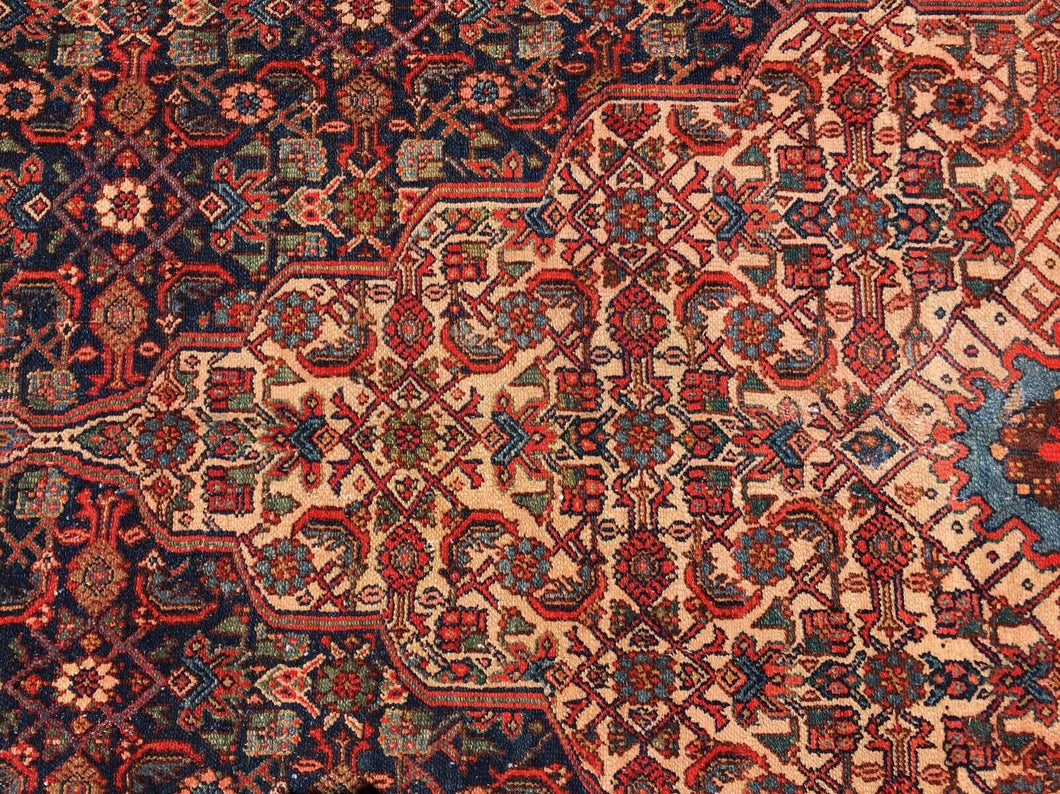 Stunning 19th C Palace Size Fereghan Saruk  Rug 6' 9
