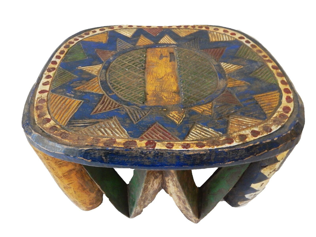 African Old Nupe Low Stool I Coast 10