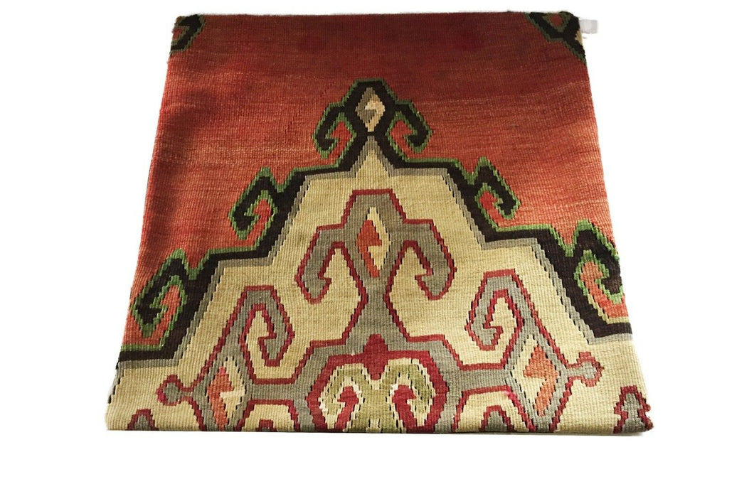 Superb Custom Made Old Turkish  Tribal Kilim Pillow Cover 20