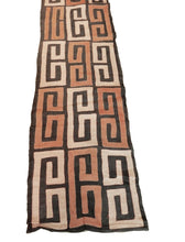 "Load image into Gallery viewer, Superb  Kuba Cloth - Bushoong – DR Congo 106 Long by 21"" w"