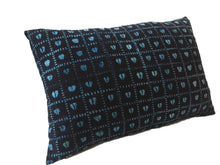 Load image into Gallery viewer, African Custom Made Indigo  cloth Pillow
