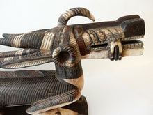 "Load image into Gallery viewer, Huge & Superb and Rare Bambara Chiwara wood Sculpture 62"" w by 26"" h"