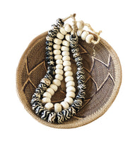 Load image into Gallery viewer, African Jumbo Bone Trading Beads Set of 2 Necklaces