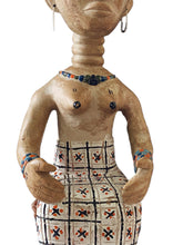 "Load image into Gallery viewer, Superb Museum quality Old / Rare Female Figure Ashanti Ghana 28"" H"