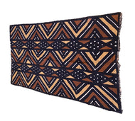 African Bogolan Mud Cloth Textile # 3081