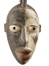 "Load image into Gallery viewer, Lg African Bamileke Mask Cameroon 18.5"" H"