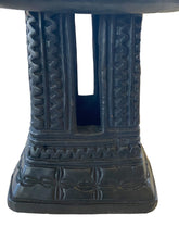 "Load image into Gallery viewer, Old Bamileke Stool/Table Cameroon 14.25"" H"