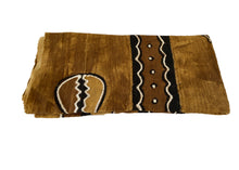 "Load image into Gallery viewer, African Bogolan Mud Cloth Textile 63 "" by 40"""