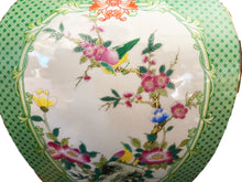 "Load image into Gallery viewer, #3199 Chinoiserie Porcelain Famille Verte Style Vases-Pair 19.5"" H"