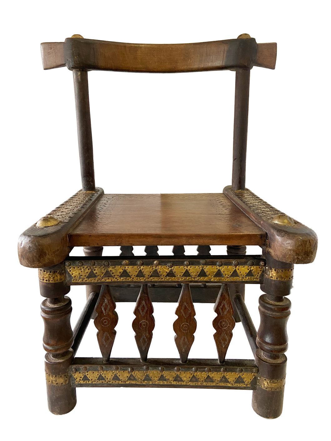 Old Low African Chief Chair I Coast 27
