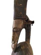 "Load image into Gallery viewer, Lg Bamana Male Antelope Chiwara Helmet From Mali, Africa 32.25"" H"