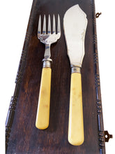 Load image into Gallery viewer, Epns Engraved Fish Flatware Set for 6