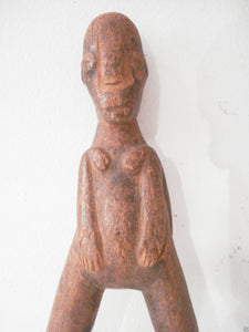 Superb /unique old Lobi Figural Sling shot Burkina Faso African