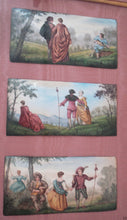 Load image into Gallery viewer, Superb Framed 18th / 19th French Limoges 3 enamels miniatures plaques paintings
