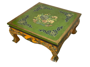 #3025 Tibetan Hand-Painted Coffee Table