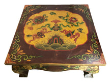 Load image into Gallery viewer, Tibetan Hand-Painted Coffee Table