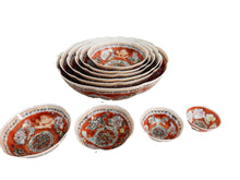 Load image into Gallery viewer, Eggshell Porcelain Nesting  Bowls - Set of 10 pcs W/ Box