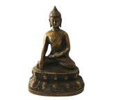 Old Bronze Earth Touching Buddha 4
