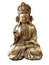 Load image into Gallery viewer, #535 Superb Vintage Bronze Buddha