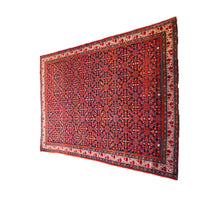 Load image into Gallery viewer, Antique Fereghan Rug 6.4' by 4.75'