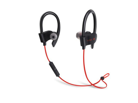 Casque Bluetooth 4.1 sport - Rouge