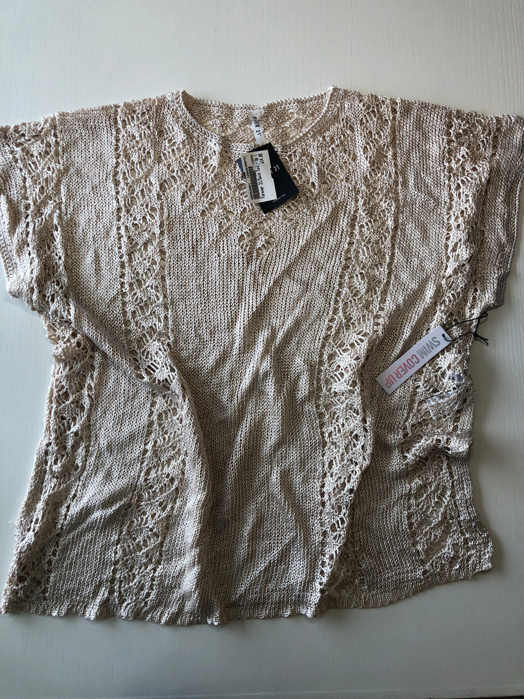 Previously Owned With Tags Women's Forever 21 Cover Up Size M