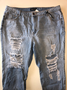 Gently Used Women's Fashion Nova Denim Size 2X