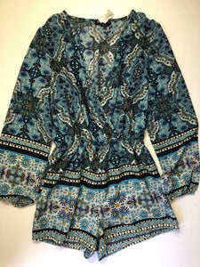 Gently Used Women's Revamped Romper Size L