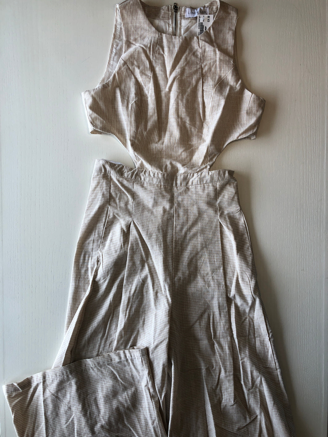 Gently Used Women's Linen Lux Jumpsuit Size 8