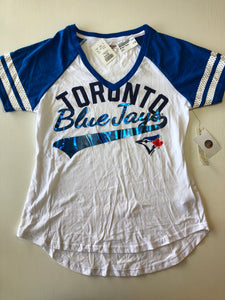 Previously Owned With Tags Women's Blue Jays Top Size L