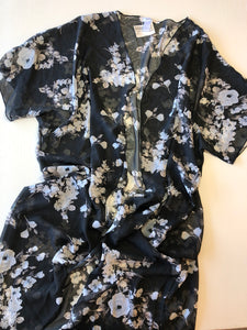 Gently Used Women's Revamped Kimono Size L