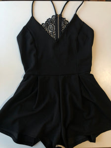 Previously Owned With Tags Women's Revamped Romper Size XL