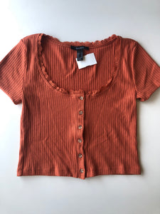 Gently Used Women's Forever 21 Top Size M