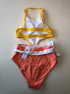 Previously Owned With Tags Women's Cupshe Bathing Suit Size M