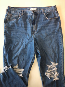 Gently Used Women's American Eagle Denim Size 18