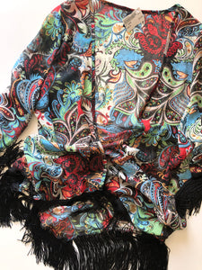 Gently Used Women's Love Kimono Size XL