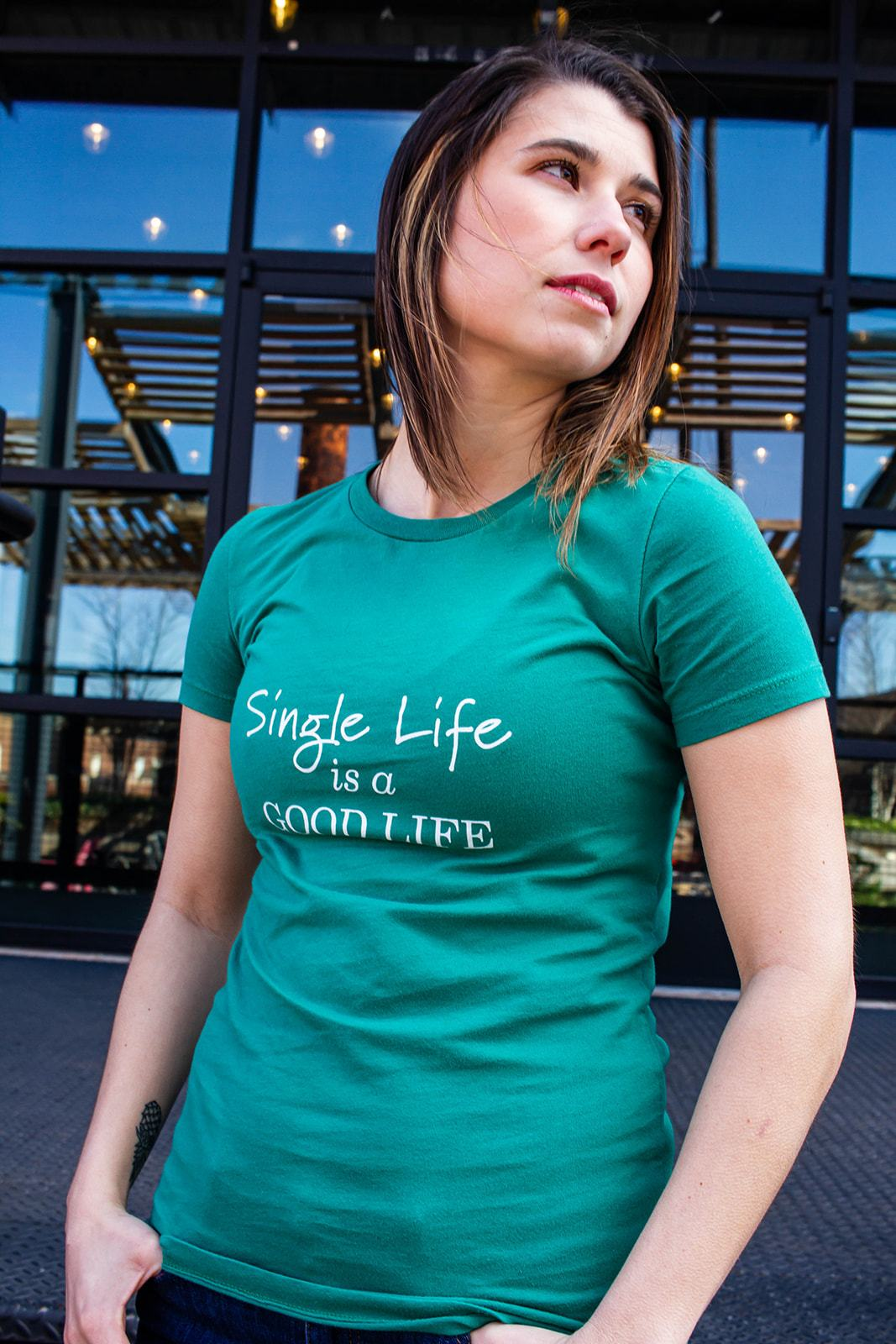 Single Life is a Good Life Women's Tee