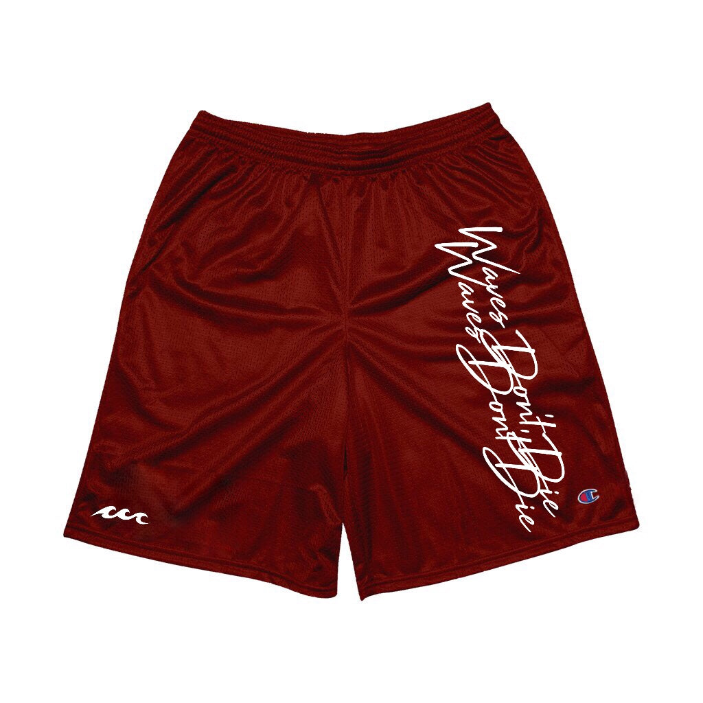 "AWAV™ ""Waves Don't Die"" Mesh Shorts"