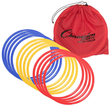 Hoops | Speed + Agility Rings (set of 12)