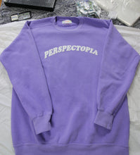 Load image into Gallery viewer, Lavender Puff Print Crewneck