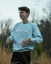 Load image into Gallery viewer, Light Blue Puff Print Crewneck
