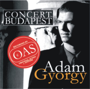 Adam Gyorgy Concert in Budapest