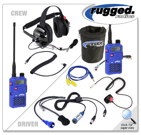 Offroad Short Course System with Rugged RH-5R Dual Band Radios