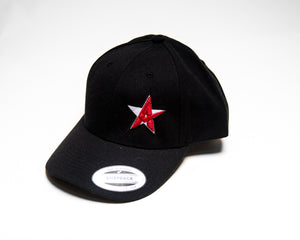 Crash Addict Snapback Black