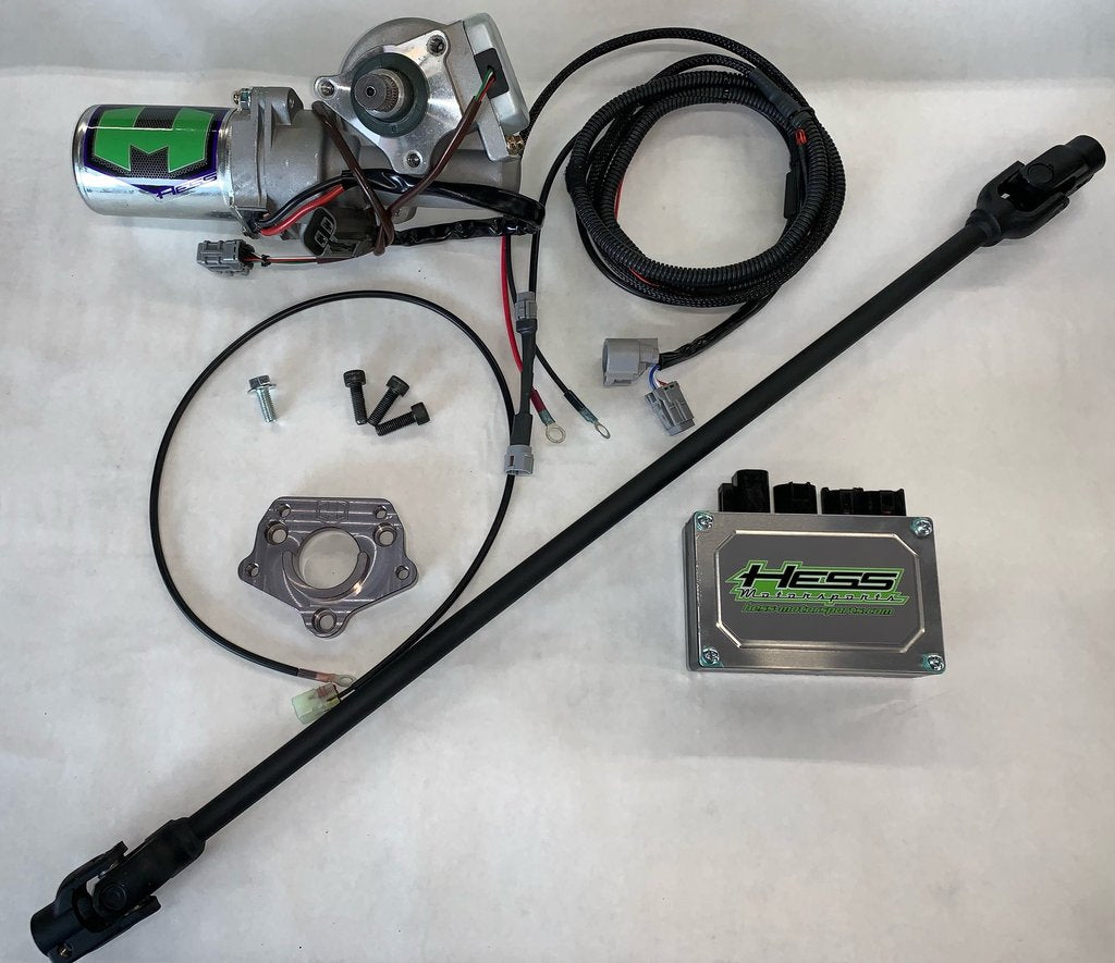 Hess Motorsports 360 Watt Power Steering Upgrade Kit with Shaft for Yamaha YXZ 1000R /SS