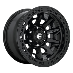FUEL 1PC COVERT BL - OFF ROAD ONLY MATTE BLACK