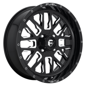 FUEL 1PC STROKE GLOSS BLACK MILLED