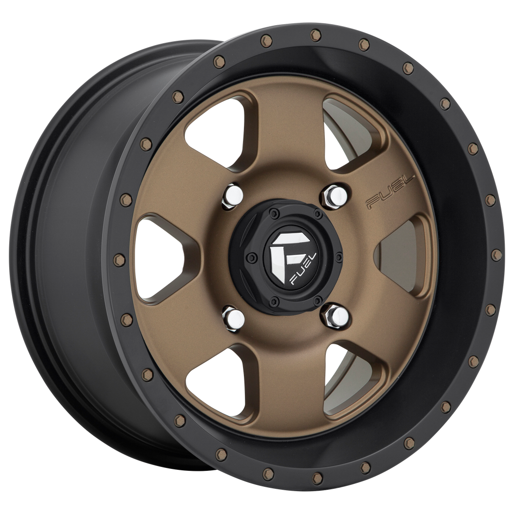 FUEL UTV PODIUM MATTE BRONZE BLACK BEAD RING