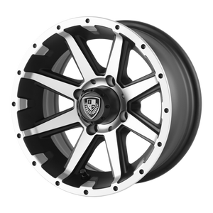 FAIRWAY ALLOYS REBEL MACHINED MATTE BLACK