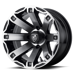 FAIRWAY ALLOYS RAGE MACHINED GLOSS BLACK